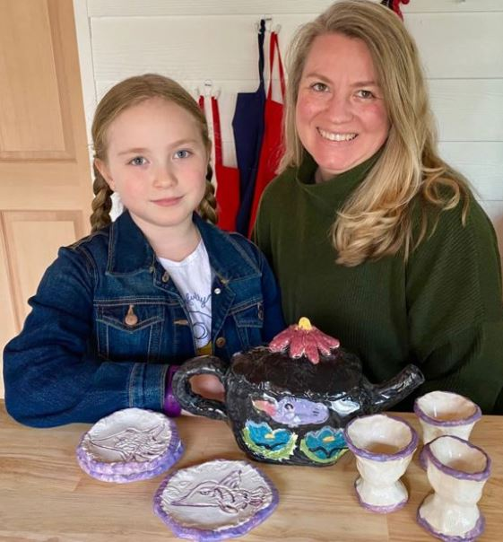Sherwood Second-Grader Awarded for Ceramics